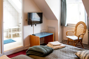 Overnatning i Lyngby værelse